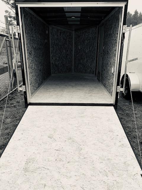 2021 Look Trailers 6X10 Enclosed Cargo Trailer w/ RAMP - Black