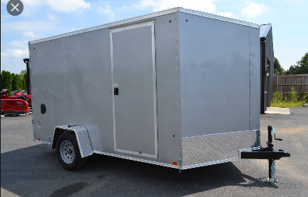 2021 Look Trailers ENCLOSED CARGO TRAILER Enclosed Cargo Trailer BLACK