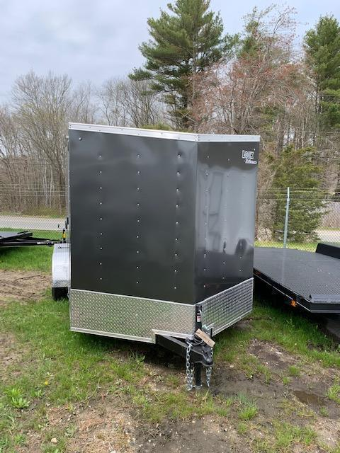 2020 Look 7'x14' Enclosed Trailer - Charcoal w/ Rear Ramp
