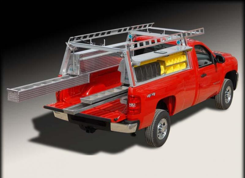 System One Tradesman Package (Ladder Rack \ Toolboxes)