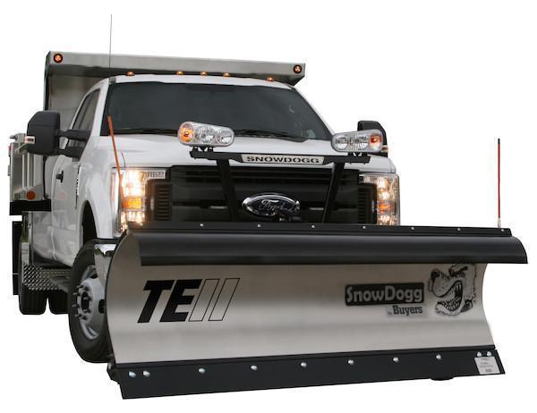 2020 SnowDogg TE90 II Stainless Snow Plow