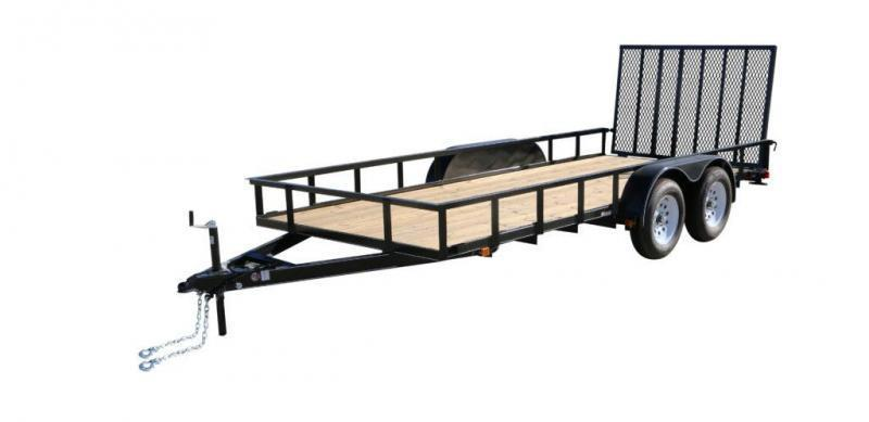 2019 Carry-On 7'X16' TANDEM AXLE Utility Trailer