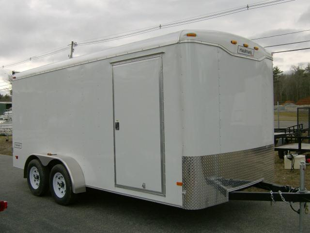 2020 Haulmark Transport 7X16 Enclosed Cargo Trailer W/Ramp