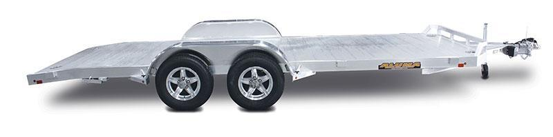 "2022 Aluma 6'10""X18'4"" Tandem Heavy Duty Car/Utility Trailer W/Ramps"
