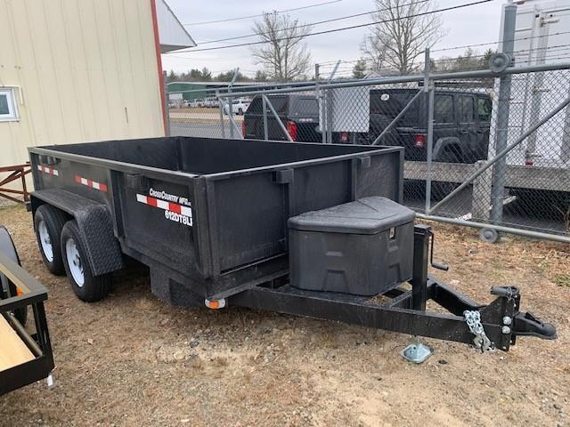 2021 Cross Country 6'X12' Dump Trailer