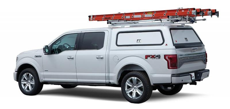 Leer 100RCC Reinforced Commercial Fiberglass Truck Cap