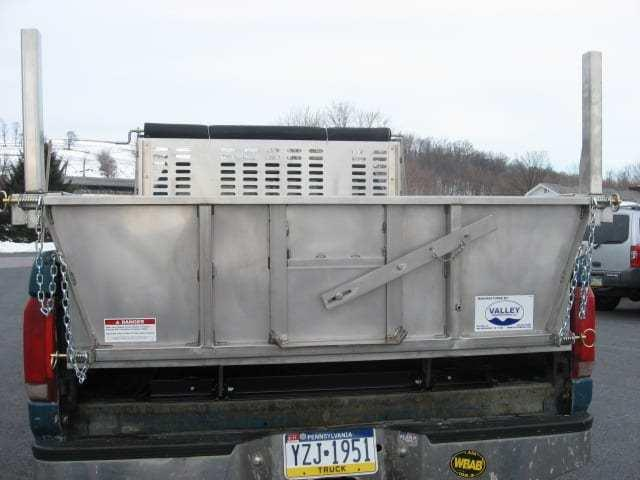 EZ Dumper 8' Stainless Steel Truck Bed Dump Insert