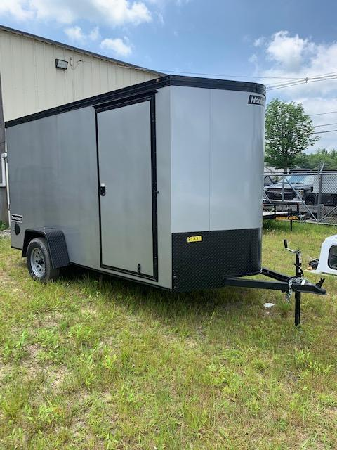 2020 Haulmark Transport 6X12 Enclosed Cargo Trailer w/ RAMP - SILVER