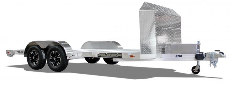 "2022 Aluma 6'10""X16' Car Trailer With Ramps ON ORDER - DUE MAY-JUNE"