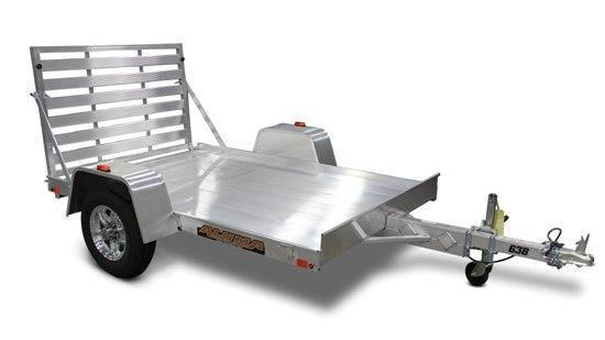 "2022 ALUMA 5'3""X8' UTILITY TRAILER With Bi-Fold Ramp"