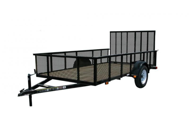 2021 CARRY-ON 6'X12' UTILITY TRAILER with high sides
