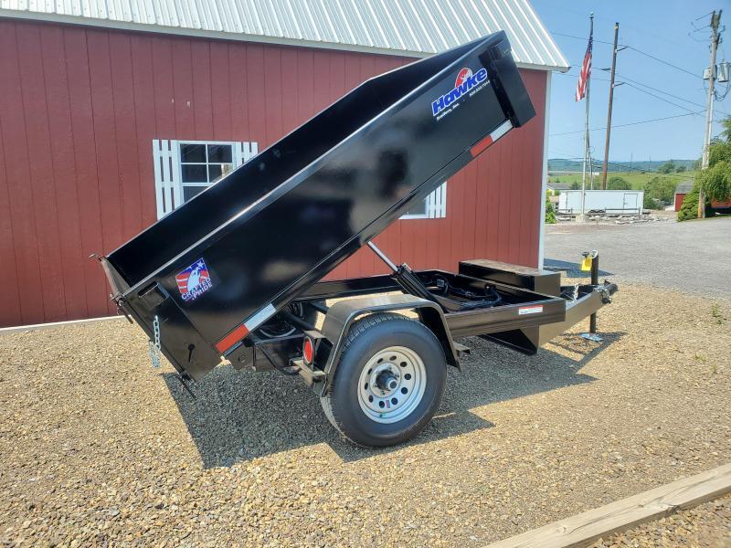 """Hawke Dump Trailer -60""""x8' - 5200 GVWR"""