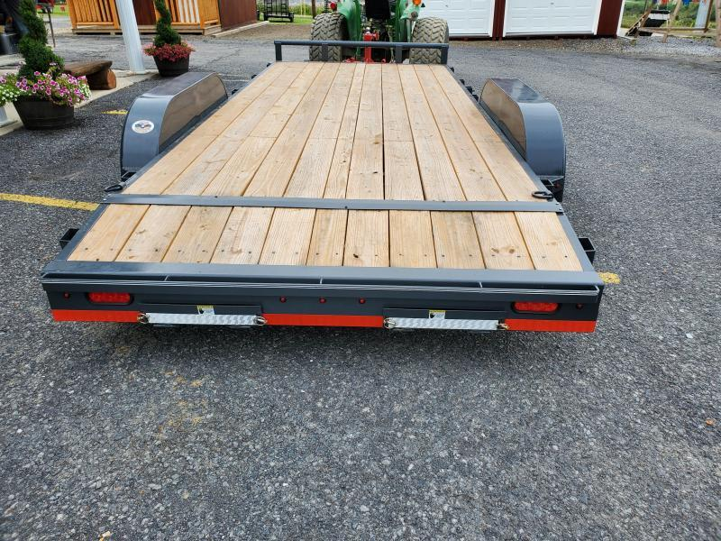 "2020 X-On Car Hauler / 83""x18' / 7000 GVWR / Removable Fenders / Spare Mount"