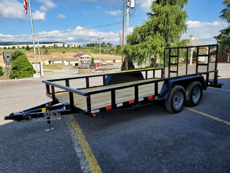 "2021 Quality Trailers 16' Pro-Grade Utility Trailer- 7K GVWR- 82"" Between Fenders- 2' Dove Tail- 3x3x3/16 Angle Frame- 2x3x1/8 Tube Top Rail- 4"" Channel Wrap Around Tongue- 4' Spring Assist Rear Gate- 15"" Nitrogen Filled Radial Tires- 8 Ply- 2 5/16 Couple"