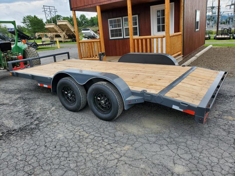 "2020 X-On Car Hauler / 83""x16' / Removable Fenders / Spare Mount"