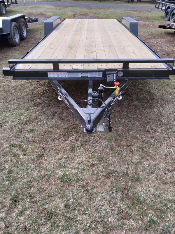 Quality Trailers Pro Grade Wood Deck SidexSide Hauler 22' - 7000 GVWR