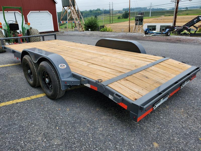 "2020 X-On Car Hauler / 83""x18' / 9990 GVWR / Removable Fender/ / Spare Mount"