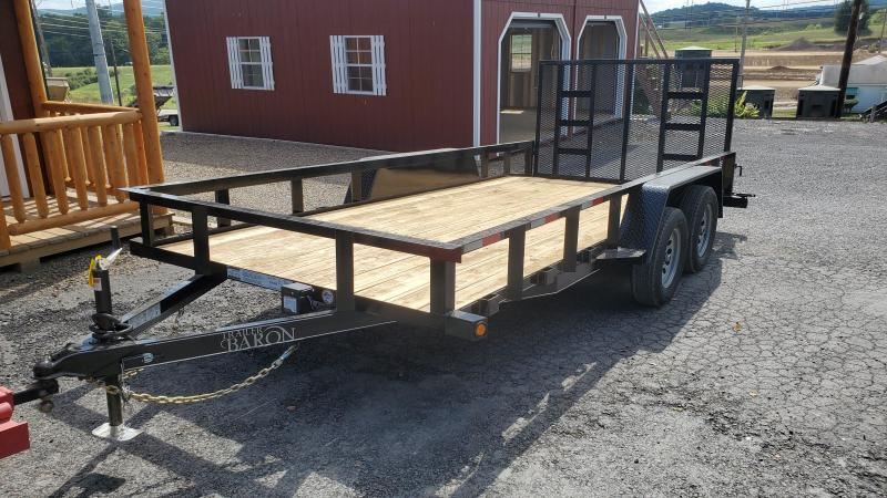 "2021 Quality Trailers General Duty Utility Trailer- 16' - 7K GVWR- 82"" Between Fender-3""x3""x3 3/16"" Angle Top Rail- 3""x3""x3 3/16"" Angle Frame- 2' Dove Tail- 2 5/16"" Coupler- 4' Spring Assist Rear Gate- 4"" Wrap Around Tongue- 15"" Nitrogen Filled Radial Tir"