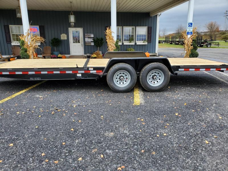 "Trailer Baron Pro-Grade Split-Tilt Equipment 22'6"" 15K -8' Fixed Deck -6"" Channel Frame & Tongue -Tool Tray With Lockable Lid -LED Lights -12K Drop Leg Jack -Slipper Spring Suspension -7000# Braking Axles -16"" 10 Ply Nitrogen Filled Radial Tires"