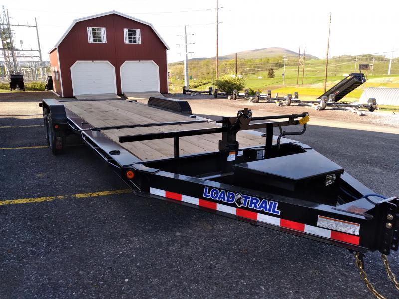 """2021 Load Trail Split Tilt Equipment Trailer / 16,000 GVWR / 83x22 / 17' 7"""" Tilt / 6 Fixed"""