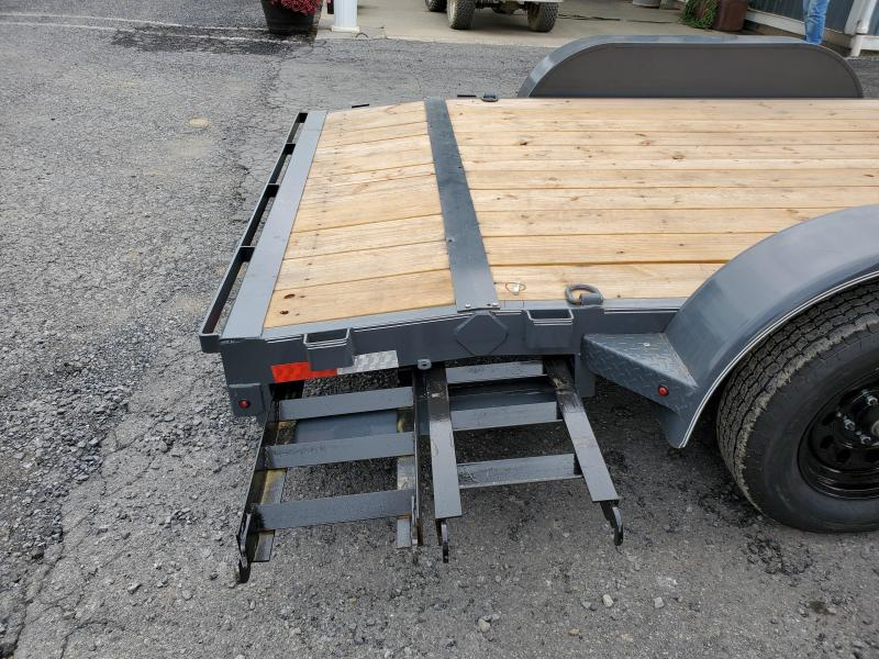 """2020 X-On Car Hauler / 83""""x16' / 9990 GVWR / Removable Fenders / Spare Mount"""