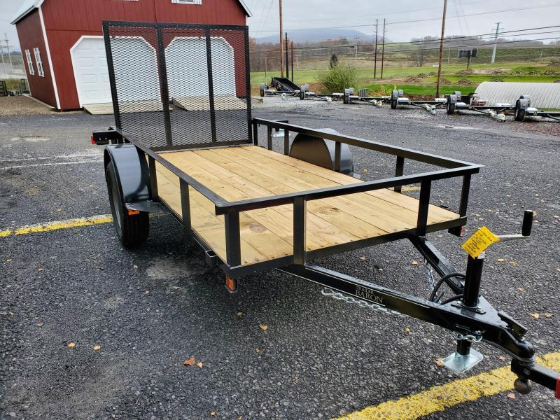 "2021 Quality Trailers Economy 10'x60""-2990 GVWR- Nitrogen Filled Radial Tires- 4' Rear Ramp Gate"