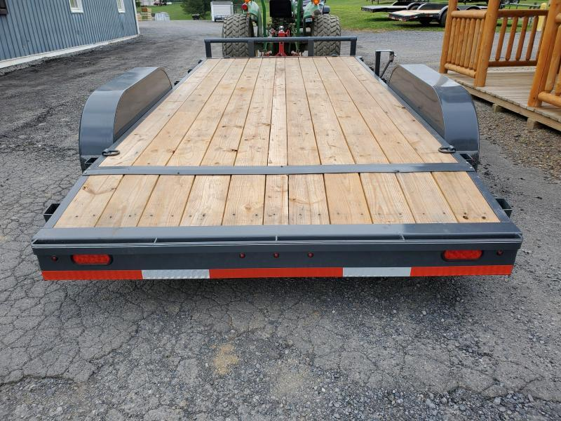 "2020 X-On Car Hauler / 83""x16' / 9990 GVWR / Removable Fenders / Spare Mount"
