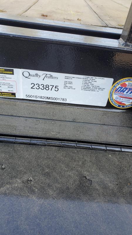 "Trailer Baron 18' Pro Grade Full Tilt Equipment Trailer- 15K GVWR- 82"" Between Fenders- 7K Dexter Axles With 4 Wheel Brakes- 16"" Nitrogen Filled 10 Ply Load Range E Radial Tires- 6"" Channel Frame- 3"" Channel Crossmembers- 6"" Channel Wrap Around To"