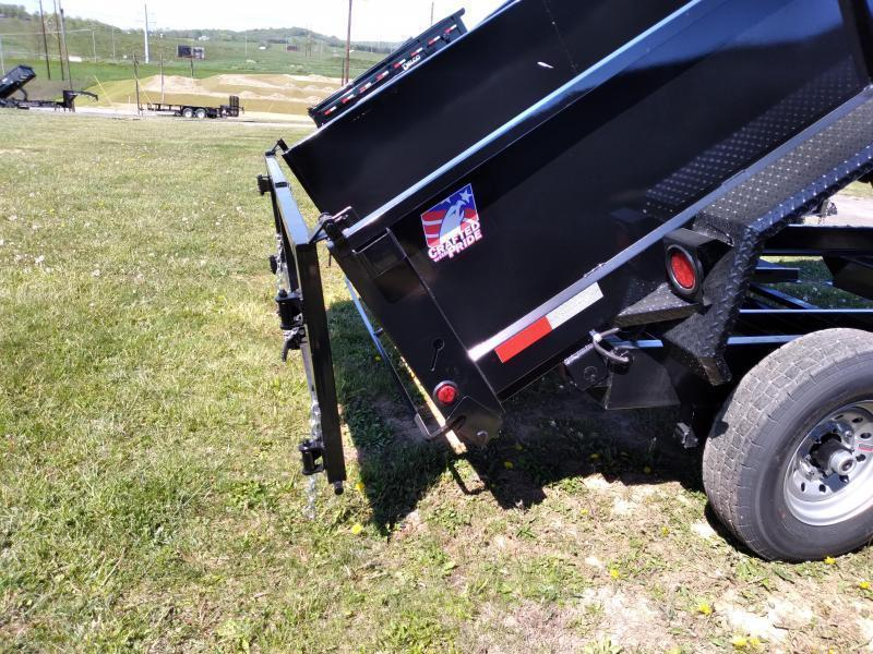 "Hawke Trailers Low Profile Dump Trailer 80""x12' - 12,000 GVWR"