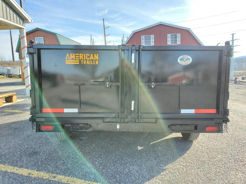 "2021 Texas Pride Trailers 36"" High Side Dump Trailer"