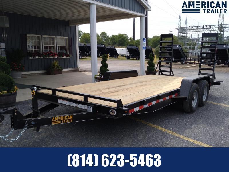 American Trailer General Duty Equipment 18' - 9990 GVWR