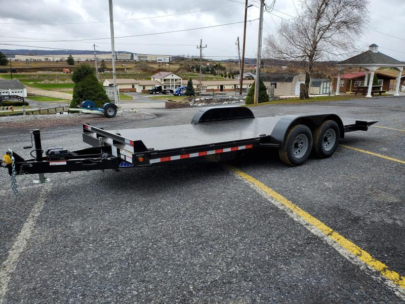 2021 Hawke Trailers Diamond Deck Tilt Equipment Trailer