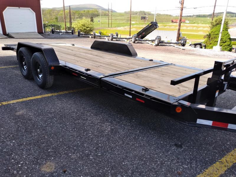 2021 Load Trail Split Tilt Equipment Trailer / 14,000 GVWR / 83x20 / 16' Tilt / 4 Fixed