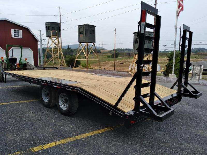 Quality Trailers General Duty Pintle Deckover  20' (16+4) - 9990 GVWR