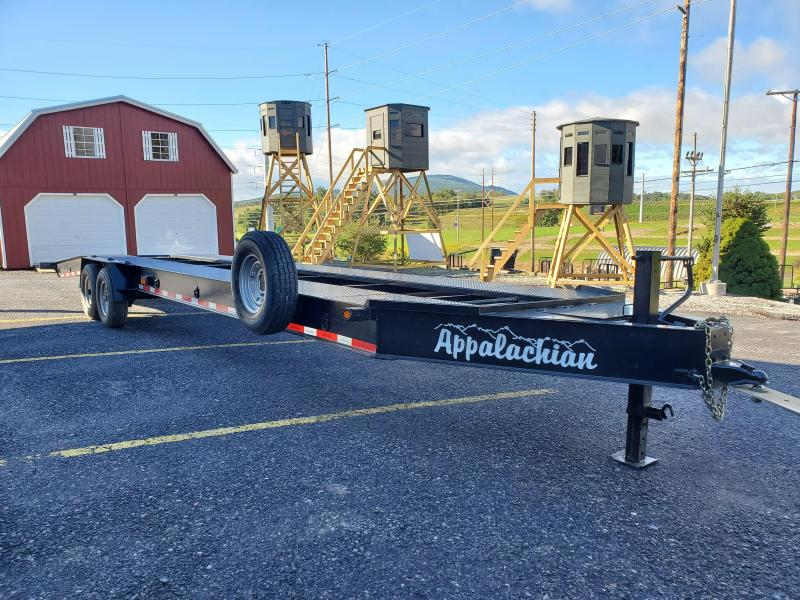 2021 Appalachian 2 Car Hauler / 15,000 GVWR / 36' / Spare Tire / Winch Plate and Battery Box / 8' Aluminum Ramps
