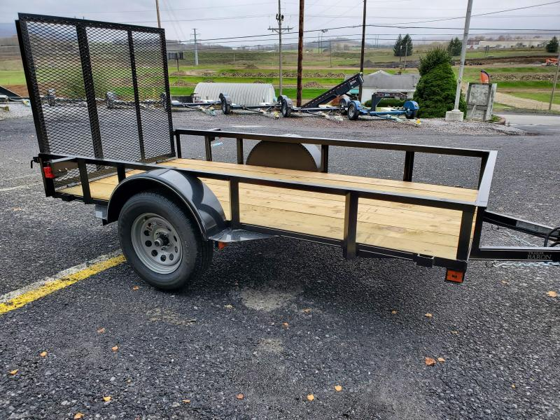 "Trailer Baron Economy 10'x60""-2990 GVWR- Nitrogen Filled Radial Tires- 4' Rear Ramp Gate"