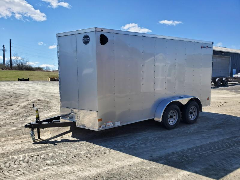 "2021 Wells Cargo Fast Trac Enclosed - 7x14 - 7000 GVWR - Rear Ramp Door - 36"" Side Entry Door - Deluxe Package"