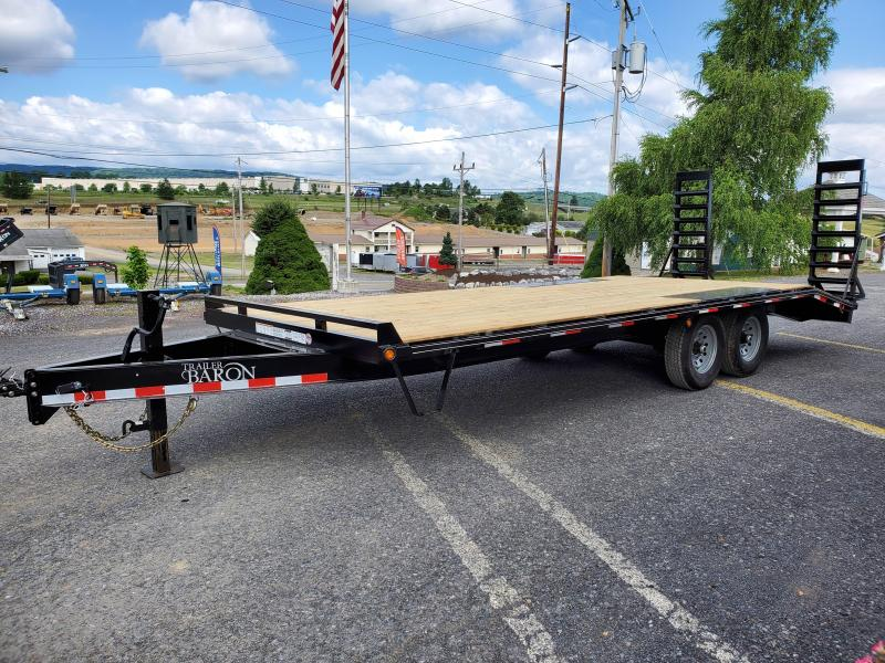 "General Duty Pintle Deckover 22' 14K -5' Swing Up Ramps -8"" I-Beam Frame -Adjustable Coupler -12K Drop Leg Jack -4' Wood Dovetail -Sealed Beam Lights -16"" 10 Ply Nitrogen Filled Radial Tires"