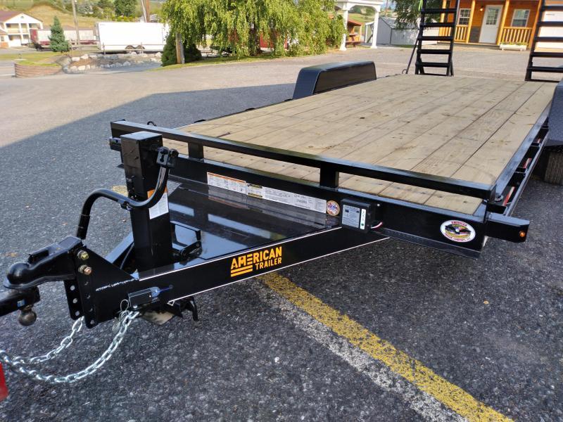 2022 American Trailer / Pro Grade Equipment Trailer / 18' / 9990 GVWR / Tandem Axle