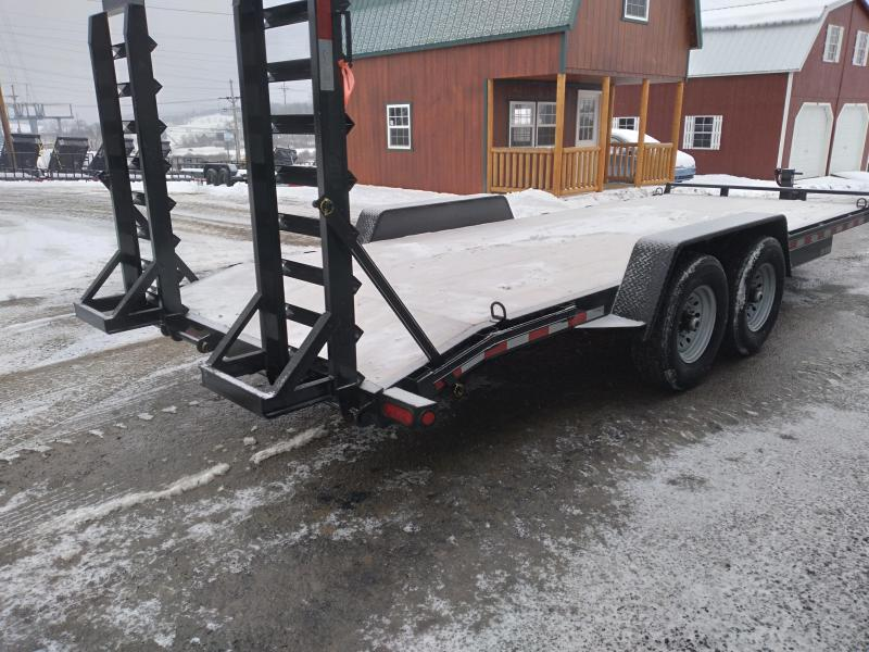 "Quality Trailers Pro Grade Equipment Trailer - 15000 GVWR - 20' - 16"" WestLake Nitrogen Filled Radial Tires - LED Lights - Adjustable Coupler - Spring Assist Ramps"