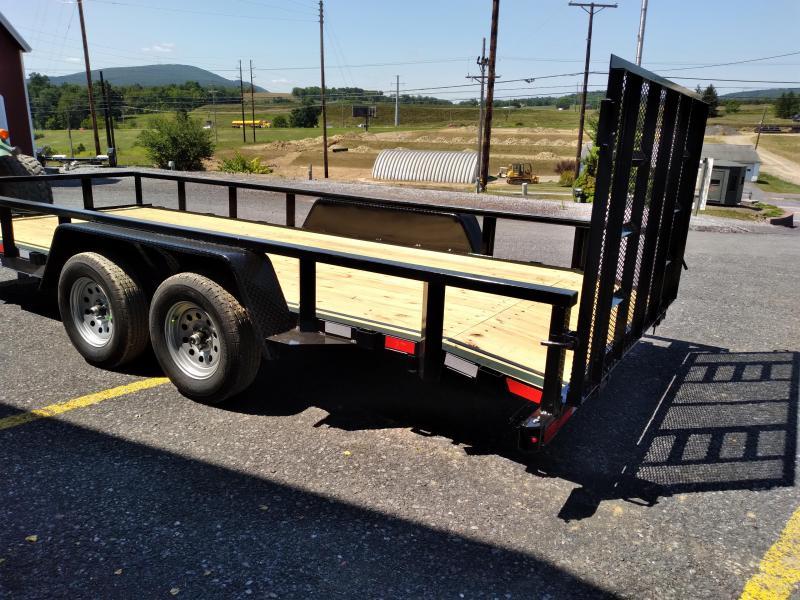 American Trailer Pro-Grade Tandem Axle Landscape 18' - 7000 GVWR