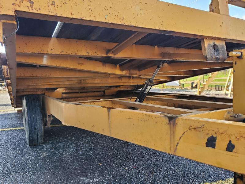 2015 Econoline 7-Ton Deckover Multi-Purpose Tilt Flatbed Trailer