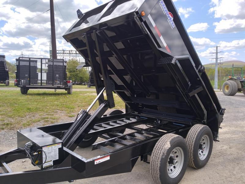 "Hawke Trailers Low Profile Dump Trailer  72""x10' - 10,000 GVWR"