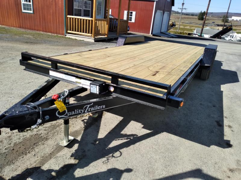 2021 Quality Trailers Side x Side Hauler ATV Trailer 24' - 9990 GVWR