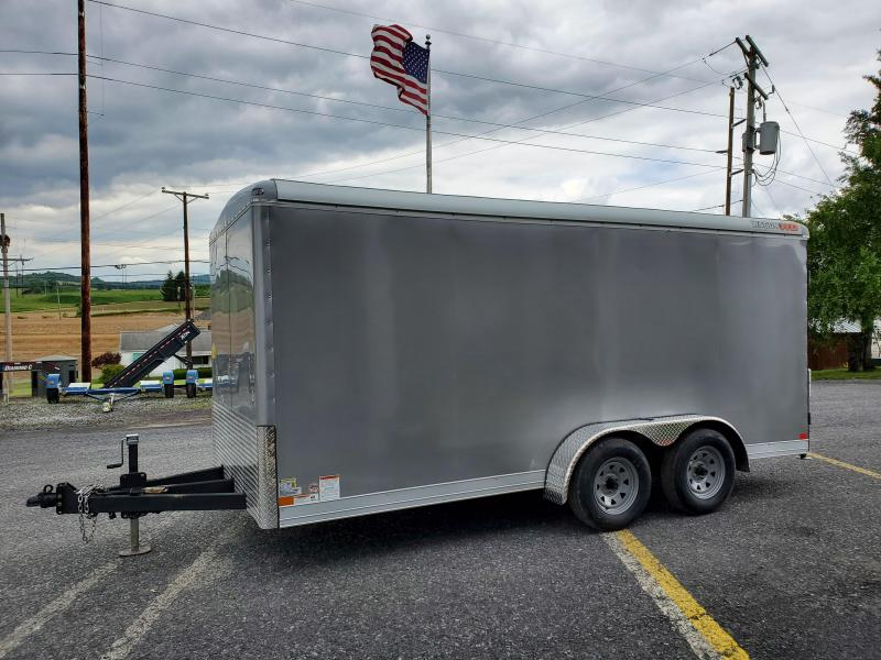 "2020 Wells Cargo 7'x16' Wagon HD Enclosed Cargo Trailer- 7K GVWR- 6'8"" Interior Height- 76""x69""Rear Ramp Door- 2 5/16"" Coupler- 1 Piece Aluminum Roof- 7-Way 12V End Connector- 3/4"" Plex Core Flooring- 3/8"" Plex Core Interior Side Walls- .030 Bonded Alumin"