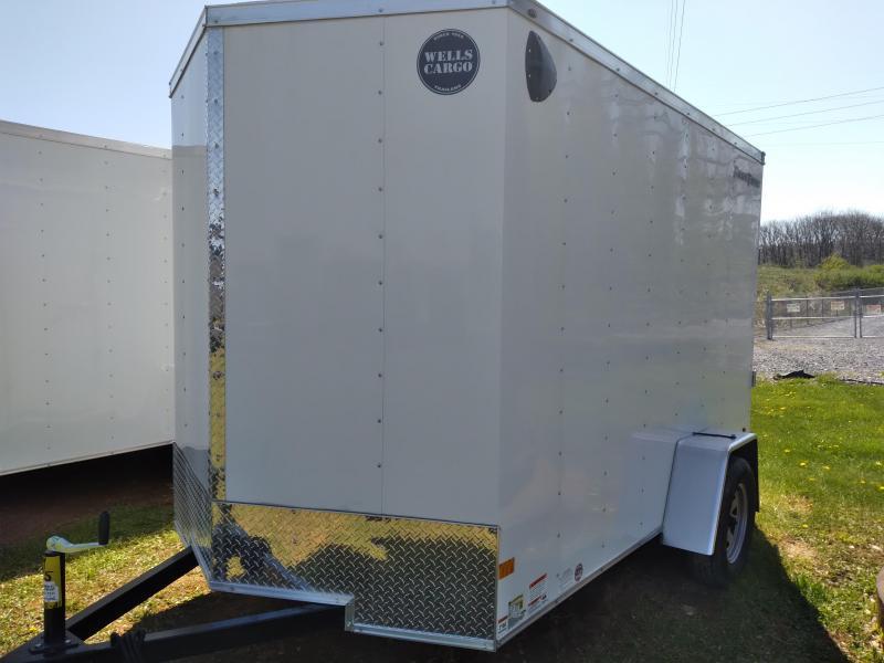"2021 Wells Cargo Fast Trac Enclosed - 6x10 - 2990 GVWR - Rear Ramp Door - 36"" Side Entry Door"