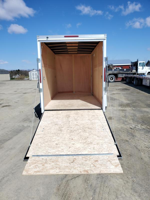 "2021 Wells Cargo Fast Trac Enclosed - 6x12 - 2990 GVWR - Rear Ramp Door - 36"" Side Entry Door"