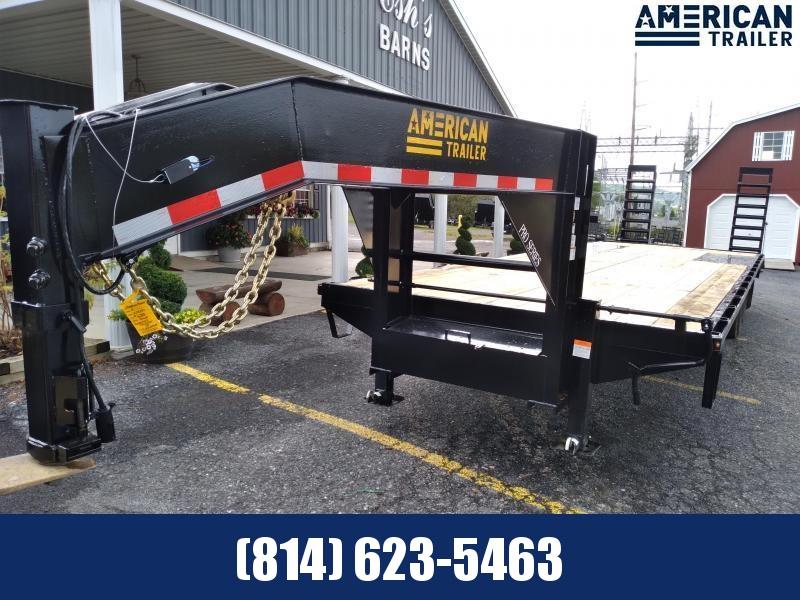 American Trailer Pro Grade Gooseneck 30' - 25000 GVWR