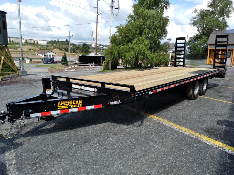 Quality Trailers Pro Grade Pintle Deckover 23' - 16,000 GVWR - 5' Dove Tail