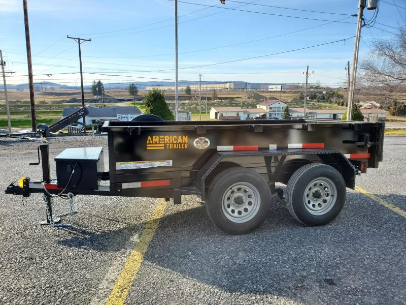 "American Trailer Dumper - 5'x10' - 7000 GVWR - 18"" Sides - Spare Included -"